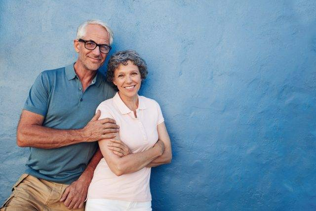 senior couple geriatric eye care services round rock tx